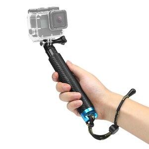 Image 4 - SHOOT Portable Selfie Stick Extend Monopod for GoPro 9 8 7 5 Black Xiaomi Yi 4K Sjcam M10 Sj8 Eken H9 Camera Go Pro Accessory