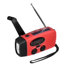 HY-88WB Self Powered Dynamo Radio 300mA AM/FM/WB Solar Emergency automation power generation LED Flashlight Power Bank Radio