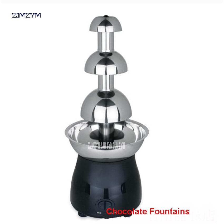 2017 Sale Chocolate Fountain Fondue Event Wedding Kids Festive Birthday and Supplies Christmas Party Waterfall Machine 110V/220V