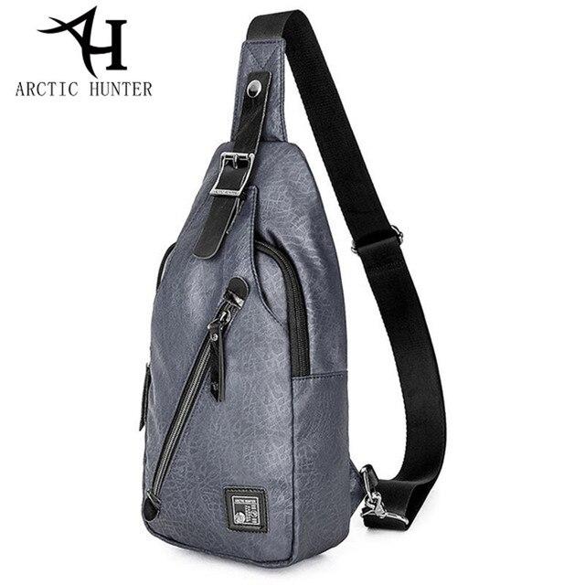 18aa20a1f ÁRTICO HUNTER alta qualidade designer bolsas Moda saco peito masculino bolsa  de viagem saco do Mensageiro