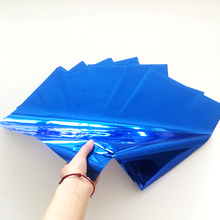 Myfoils blue hot stamping foil for toner reactive foiling laser pinter minc laminator printing on paper/sticker/label/cards цена и фото