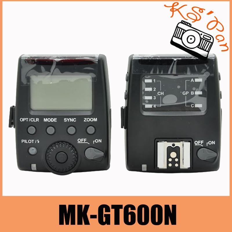 Meike MK-GT600N MK GT600 2.4G Wireless 1/8000s HSS TTL Flash trigger for Nikon D7100 D7000 D5100 D5000 D5200 D90 D70 meike mk d750 battery grip pack for nikon d750 dslr camera replacement mb d16 as en el15 battery