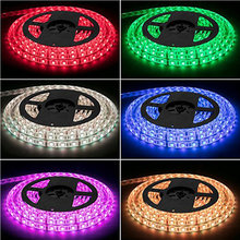 Lampu LED Strip Kit RGB LED Strip Tahan Air SMD 5050 RGB 16.4Ft/5M 300 LED dengan 44Key Remote controller Power Supply Rumah(China)