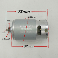 13 Teeth Motor 18V Replacement for BOSCH GSR18 2 LI DDBB180 DDB180 PSB1800LI 2 2609199273 2 609 199 273