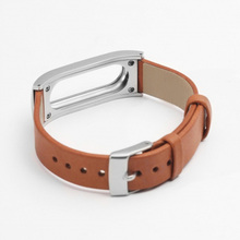 Original Leather Replace Strap for Xiaomi Mi Band Wristbands for Xiaomi Band Smart Bracelet Wrist Strap for Xiomi Band