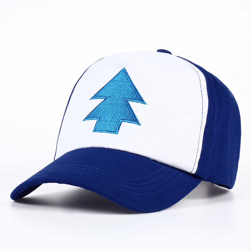 b4b0cccee2435 2017 New Cotton tree embroidery Gravity Falls U.S Cartoon Mabel Dipper Pines  Cosplay Cool Baseball Caps