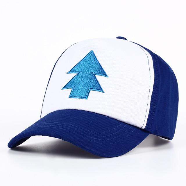 8d3d865fa78 2017 New Cotton tree embroidery Gravity Falls U.S Cartoon Mabel Dipper Pines  Cosplay Cool Baseball Caps Adjustable Sport Hat