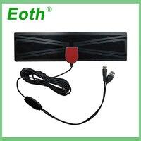 vhf uhf HD אנטנה טלוויזיה דיגיטלי טלוויזיה רדיוס אנטנות טלוויזיה Surf Antena טלוויזיה פוקס אוויר הפנים מגבר DVB-T2 / T UHF VHF אנטנה Eoth מקורה (1)