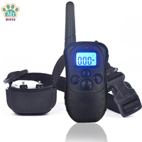 Remote Control Dog Training Collar Rechargeable Vibration Shock Electronic Anti Bark Device For Small Meduim Large