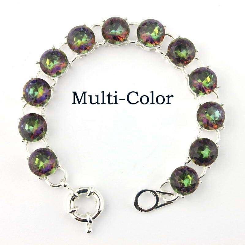 B1484 Silver Multi-color