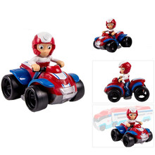 Genuine Paw Patrol dog Puppy car Patrulla Canina Canine Chase marshall ryder Vehicle Car kids toy