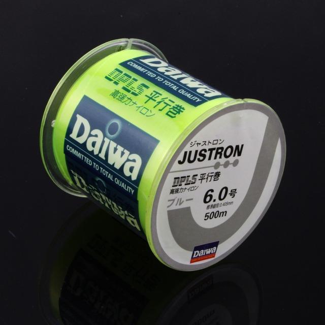 500M nylon DAIWA monofilament Fishing line Japonia linia rybacka