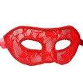 Máscara Sexy Para Mulheres Overwatch Masquerade Cosplay Dança Rendas Translúcido Partido Máscara De Látex Fetiche LB