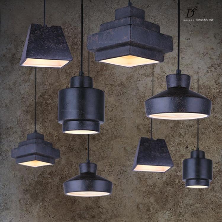 купить Bar Single Retro black Ceramics Pendant Lights dining room novelty lighting fixtures Lamparas Colgantes Vintage pendant Lamp по цене 4651.03 рублей