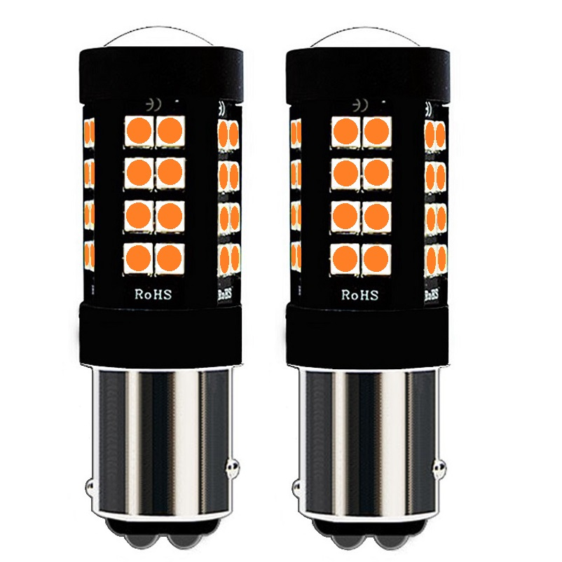 Useful 2pcs P21/5w 1157 Bay15d 1800lm 3030 Led Car Rear Tail Brake Light Auto Direction Indicator Bulb Drl Lamp Red Yellow Amber White Exquisite Traditional Embroidery Art Lights & Lighting