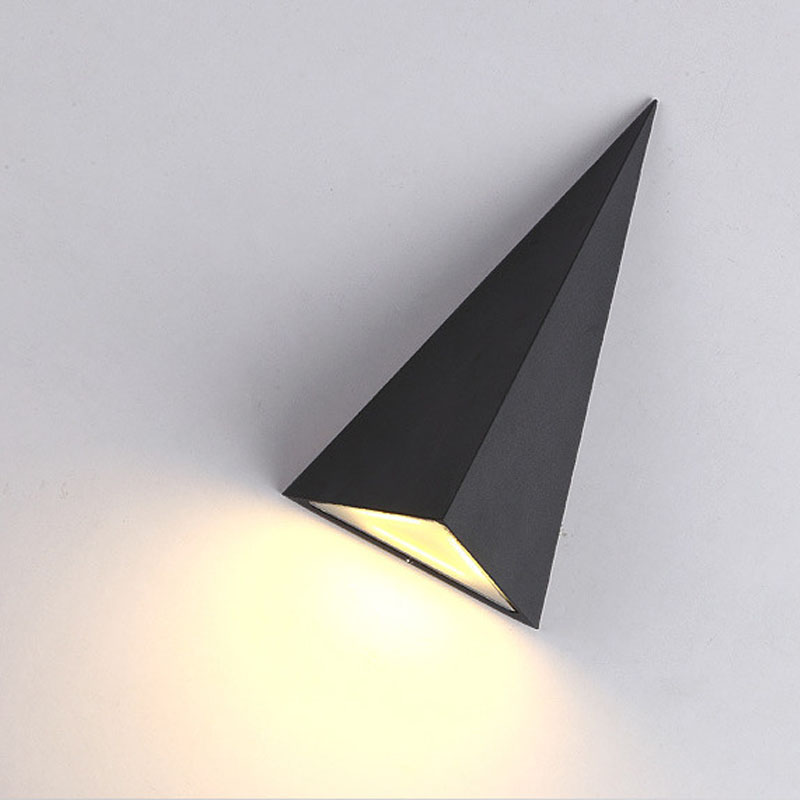 Εσωτερική / Εξωτερική Αδιάβροχη Λάμπες Τοίχου LED Μοντέρνο Υπνοδωμάτιο Κομοδίνο ανάγνωσης Φως 9W LED Εξωτερική λάμπα τοίχου AC220V Φως Εστιατόριο