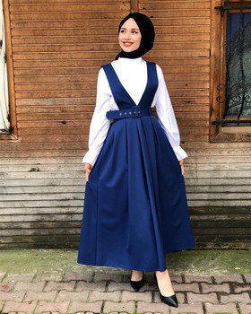 Turkey Muslim Women Summer Long Skirt Dress