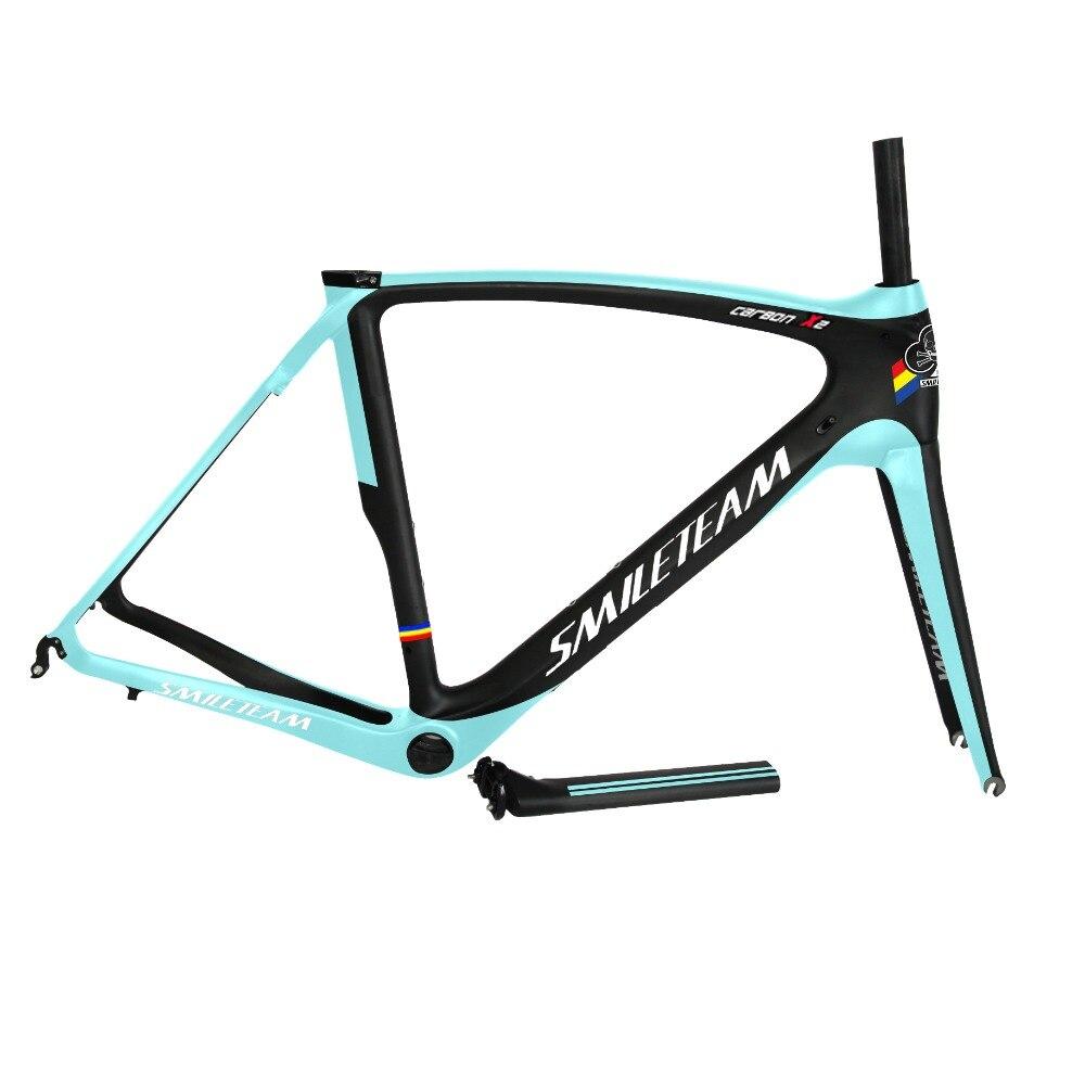 2016 Best Selling Full Carbon Frame , Carbon Bike Frame Bicycle Road frame racing carbon bike frame with Fork Headset