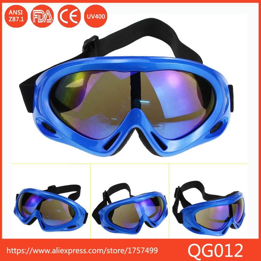 Venta caliente Protección UV Sports Ski Snowboard Skate Gafas de Lentes de Color