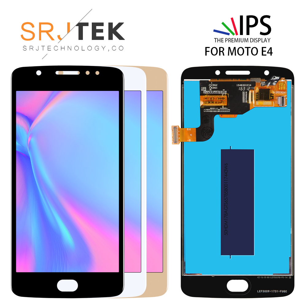 100% Tested LCD <font><b>Display</b></font> For Motorola <font><b>Moto</b></font> <font><b>E4</b></font> XT1766 <font><b>XT1763</b></font> XT1762 XT1772 touch screen Digitizer Sensor Assembly image