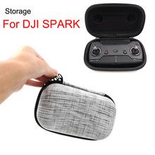 Perfectly match with spark remote controller Remote Control Carry Case Storage Bag Protective Box for DJI Spark RC Drone L503 недорого