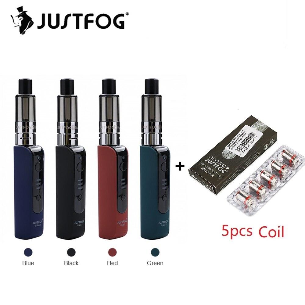 JUSTFOG P16A VV Kit de iniciación con 900 mAh J-fácil 3 y 1,9 ml P16A Clearomizer, fácil de Vaping del JUSTFOG Q16 Vape Kit de iniciación