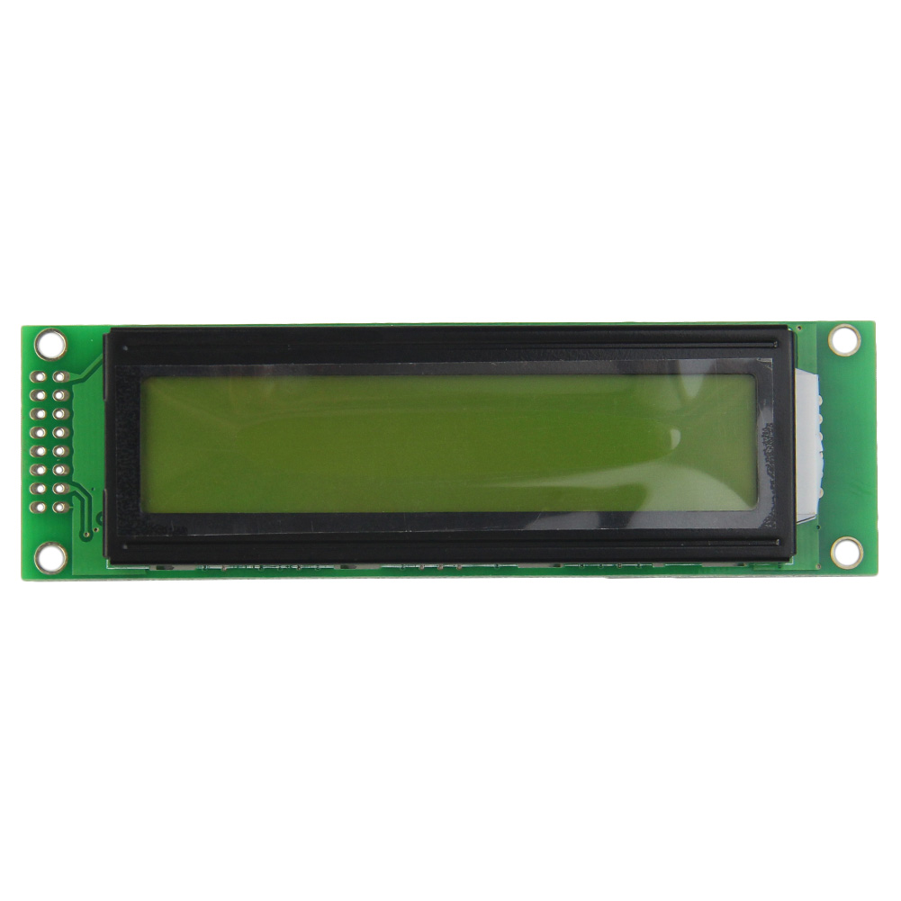 20x2 2002 20*2 Character LCD Module Yellow Green  LED Backlight SPLC780D