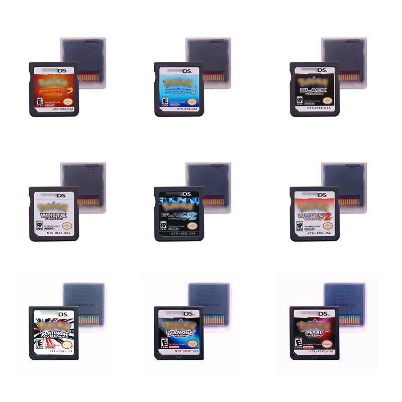 PokemonSeries Cartucho de Jogo de Console Cartão Inglês EUA Versão Plataforma vaus
