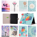 Stained Case For samsung galaxy tab 3 10.1 New Arrival Color Mix PU Leather Flip case For tablet 3 P5200 Stand Cover +gifts