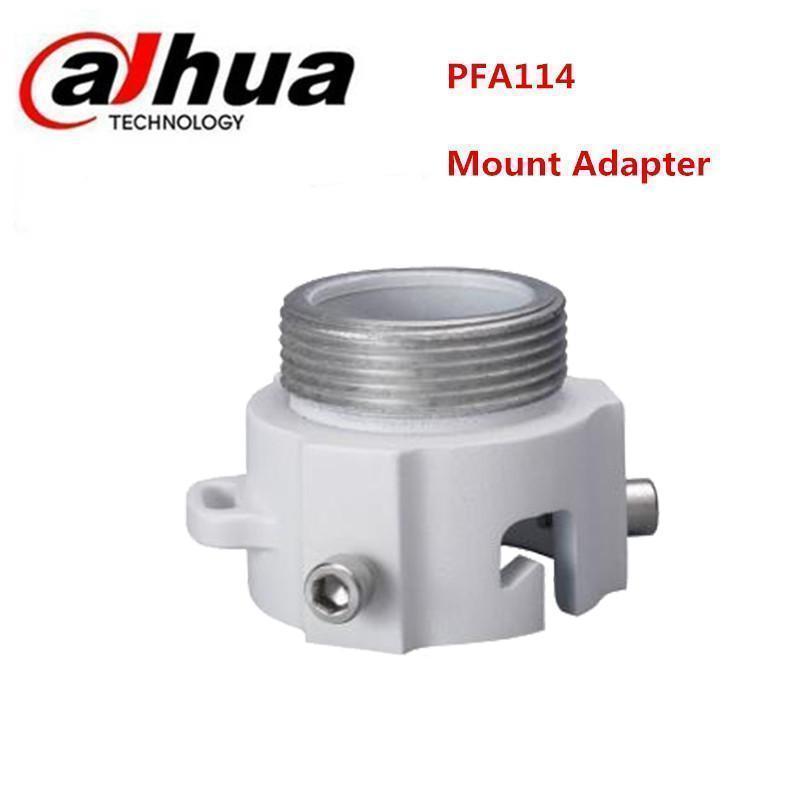 Aluminum Dahua PFA114 Mount Adapter For CCTV Camera Bracket dahua hanging mount adapter pfa101