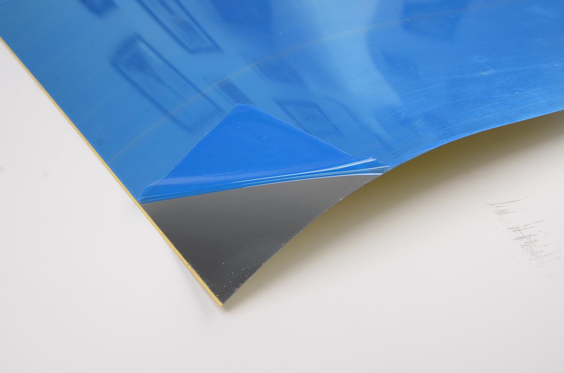 Tegel Decoratie Stickers : 50x100 cm diy vierkante spiegel tegel muur sticker 3d decal voor