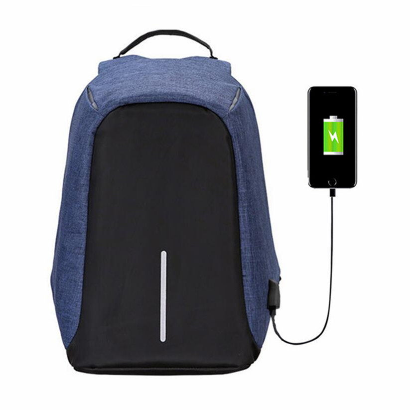 Casual USB Charge Anti Theft Backpack Unisex Travel Security Waterproof School Bags College Teenage Male 15inch Laptop Backpack 14 15 15 6 inch flax linen laptop notebook backpack bags case school backpack for travel shopping climbing men women
