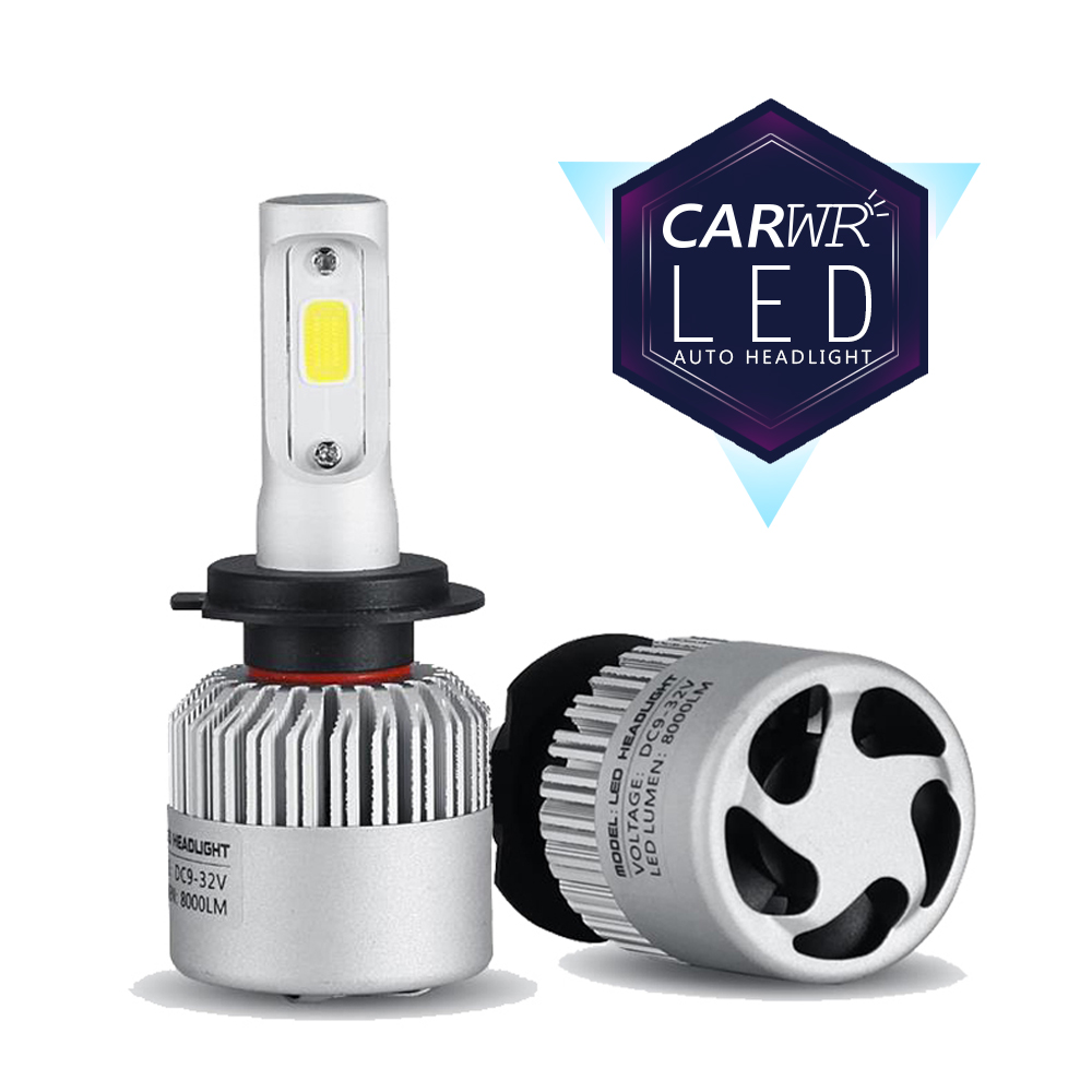 CARWR Car Headlights H7 H11 LED H4 9005 HB3 9006 HB4 9012 62W 9000Lm Mini Auto