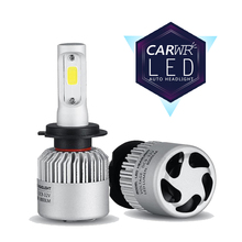 CARWR Car Headlights H7 H11 LED H4 9005/HB3 9006/HB4 9012 62W 9000Lm Mini Auto Fog Lighting Replacement Bulbs 6000K 12V