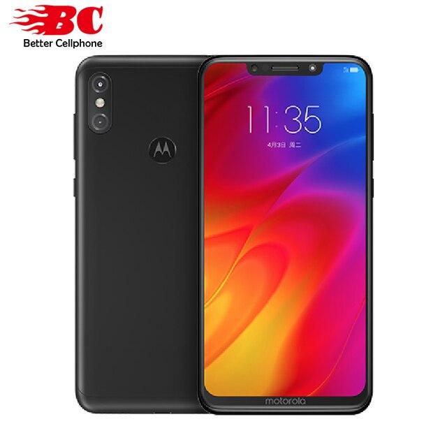 Оригинальный Motorola MOTO P30 Note 4G Смартфон Snapdragon 636 Octa Core 4 GB Оперативная память 64 Гб Встроенная память 16.0MP + 5.0MP 1080 P отпечатков пальцев 5000 mAh