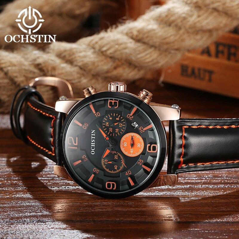 Marca de lujo superior OCHSTIN Hombres Relojes deportivos Horas de - Relojes para hombres - foto 5