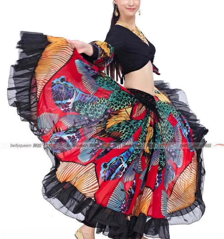 1 ensemble/lot vêtements de danse du ventre costume indien ensemble de danse danse du ventre porter 2 pièces Jupe Supérieure