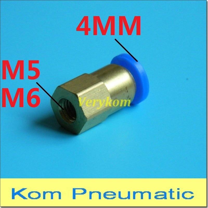 3mm-m6-4mm Gerade Reduzierung Verbindungskunststoffrohr Fitting Barbed Reduzierung Stecker Metric Material Pp Rohre & Armaturen