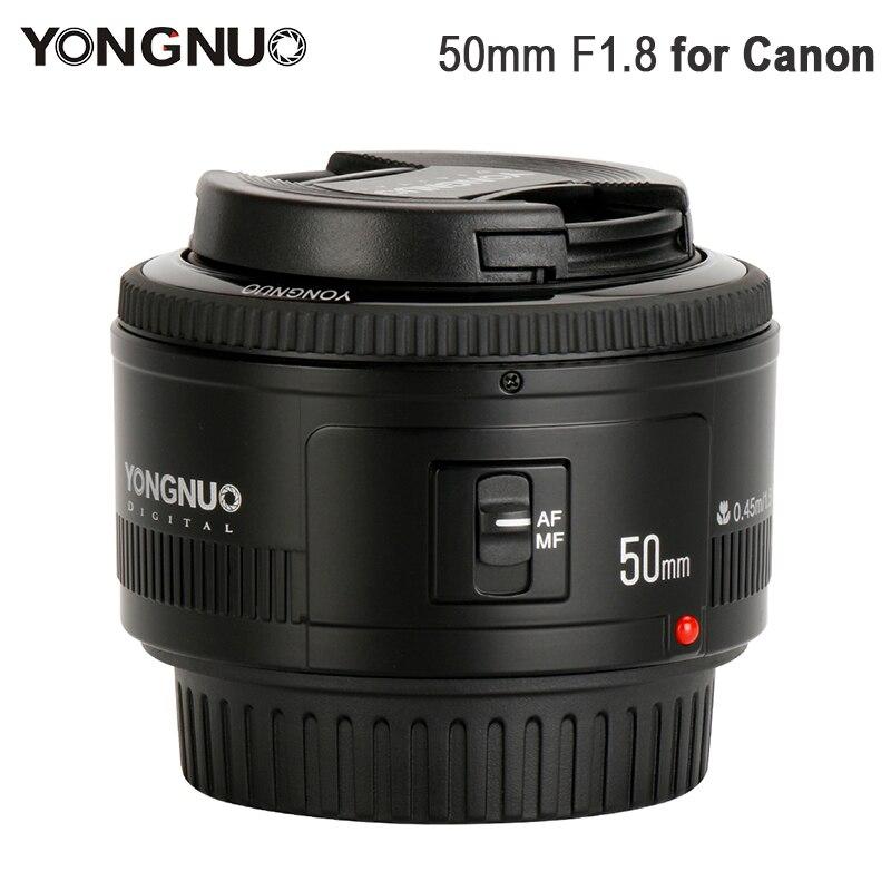 YONGNUO YN50mm F1.8 Standard Prime Lens Large Aperture Auto Focus Lens for Canon EF Mount Rebel 650D 700D 7D DSLR Camera Lens