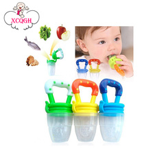 Funny Pacifiers Silicone Baby Pacifier Fresh Food Feeder Feeding Nipple Dummy Fruits Nibbler Soother Bottle Clip