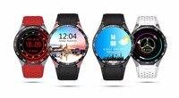 KW88 3G Smart Watch 1 39 Amoled 400 400 Black SmartWatch Calling 2 0MP Cam Pedometer