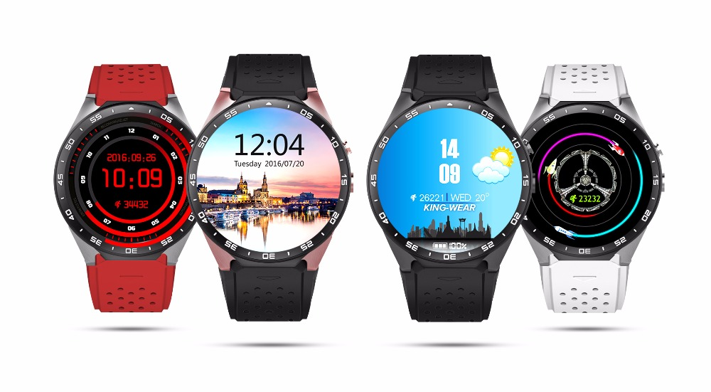 KW88 3G Smart Watch 1.39'' Amoled 400*400 Black SmartWatch Calling 2.0MP Cam Pedometer Heart Rate PK X5 D5 With Secret Gift u80 smart watch with pedometer function