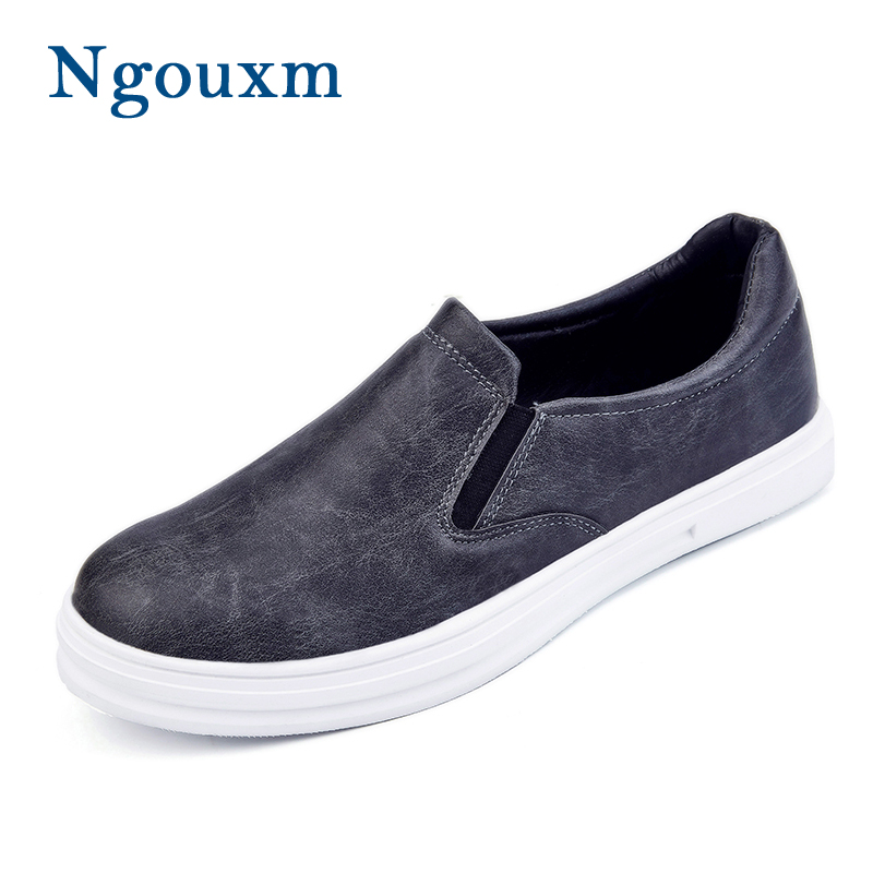 De Ngouxm Hommes Noir Sur Automne Qualité marron Noir Haute Mocassins Pour Glissement Mode Printemps Chaussures Des Gris gris OqxqrpAgn