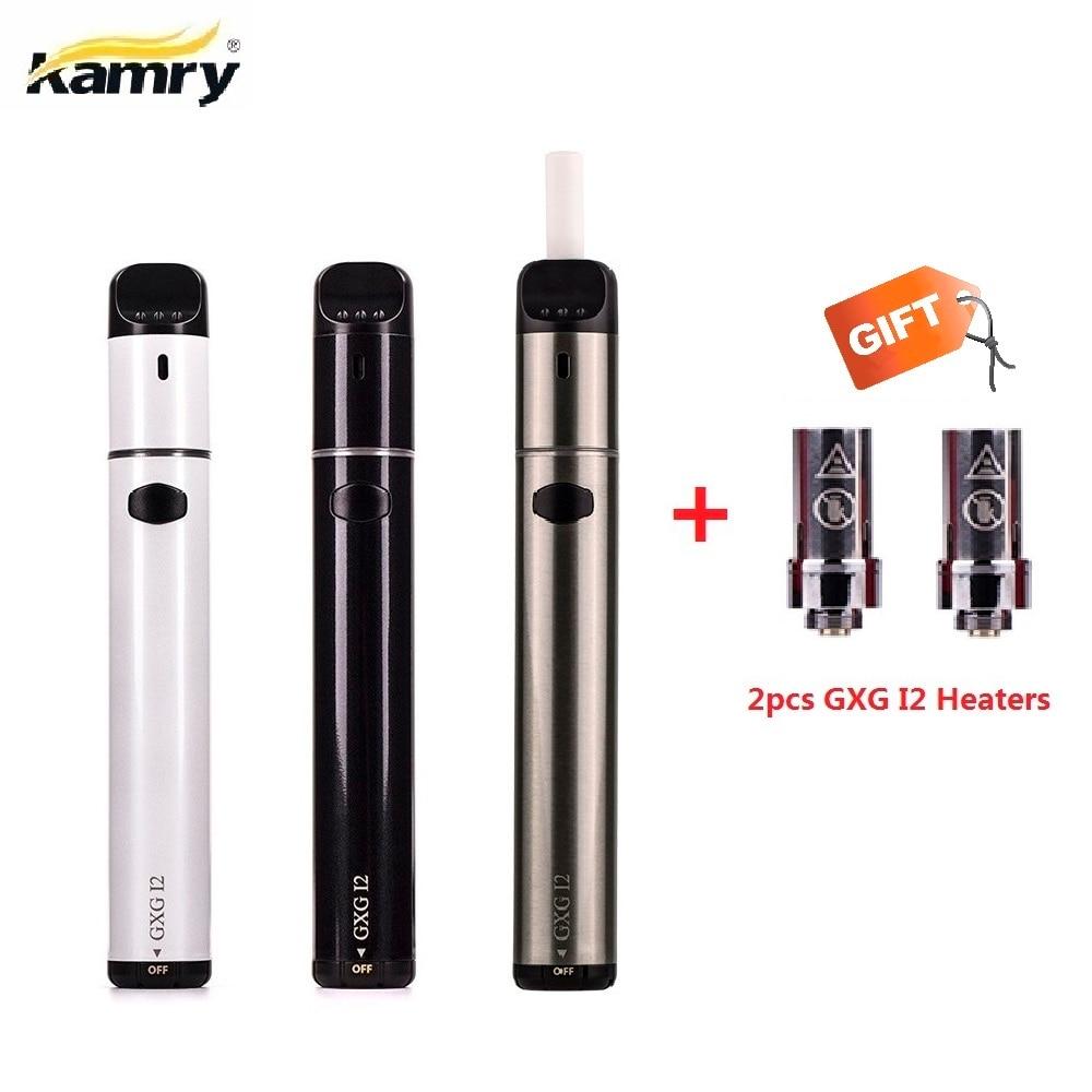New Kamry GXG I2 Heating Stick Kit 1900mah Ecig Dry Herb Vaporizer For Heating Tobacco Cigarette Cartridges VS 2.0 Plus GXG I1S