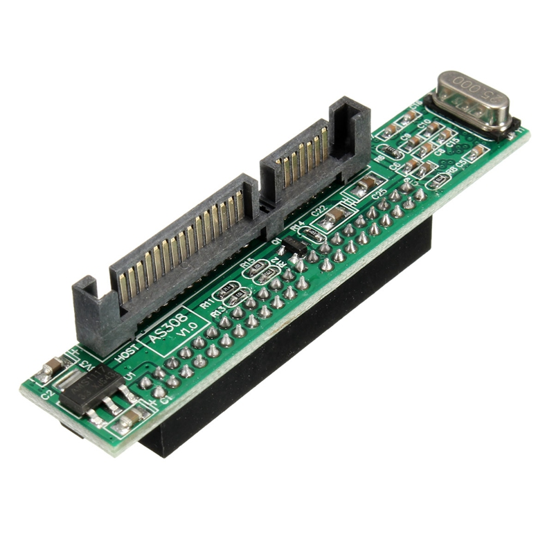Newest 2.5 IDE Female to SATA Male Hard Disk Adapter 2.5'' Laptop 44pins Male IDE to 22pins SATA Hard Drive Adapter Converter