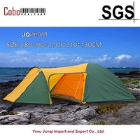 Outdoor Dome Family Camping Tent 100% Waterproof 2500mm, European Design, Easy Assembly, Durable Fabric Full Coverage Rainfly