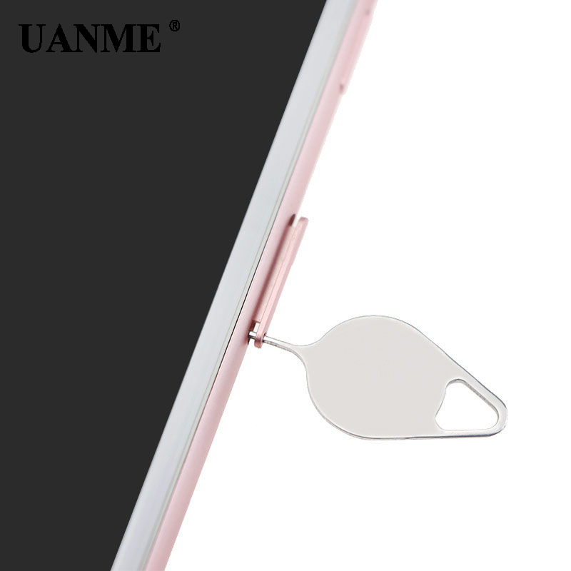 UANME Sim Card Tray Remover Eject Ejector Pin Key open Tool For iPhone X 7 8 6 6S Plus/ iPad / SamSung/ Xiaomi & More