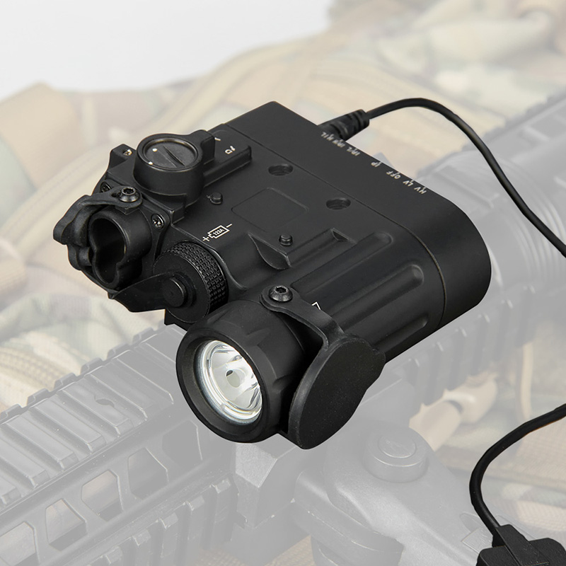 New Arrival DBAL-D2 Dual Beam Aiming Laser Red w/IR LED Illuminator Class 1 gs15-0088 kt 2 dual pipe led illuminator
