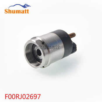 Common Rail Parts F00RJ02697 Fuel Injector Assy Solenoid Valve Set F00R J02 697 F 00R J02 697
