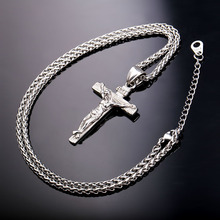 Crucifix Necklace Stainless